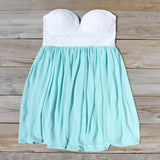 Sweetheart & Mint Dress: Alternate View #1