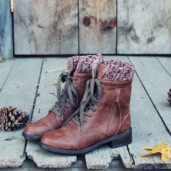Snowhaven Sweater Boots: Featured Product Image