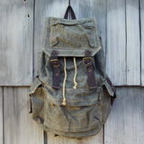 The Dakota Rugged Backpack in Sage: Alternate View #1