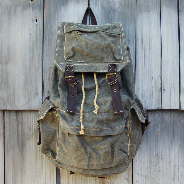 The Dakota Rugged Backpack in Sage: Featured Product Image