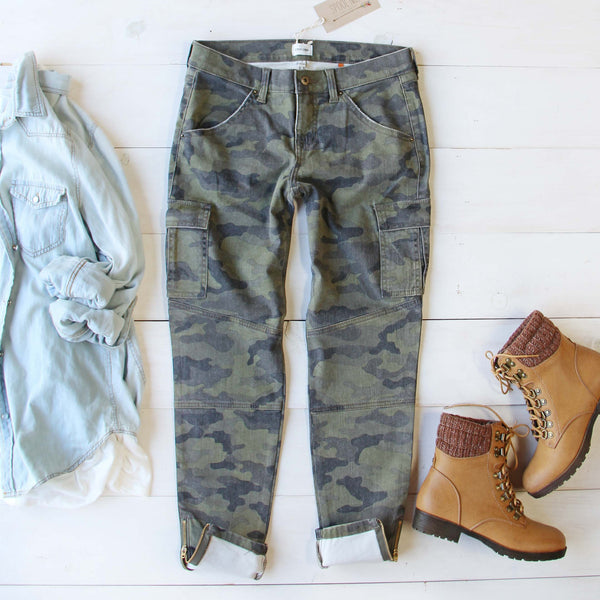 The Joey Camo Jeans: Featured Product Image