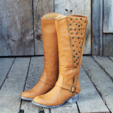 The Tucker Studded Campus Boots: Alternate View #1