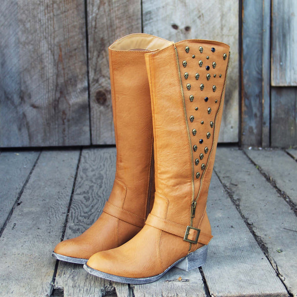 The Tucker Studded Campus Boots: Featured Product Image