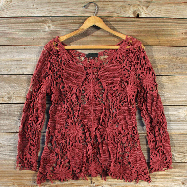 Winterly Lace Blouse: Featured Product Image