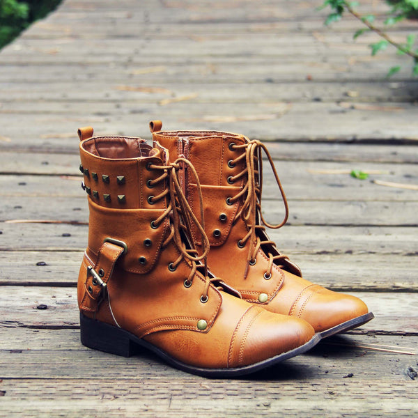 The Eddie Studded Boot: Featured Product Image