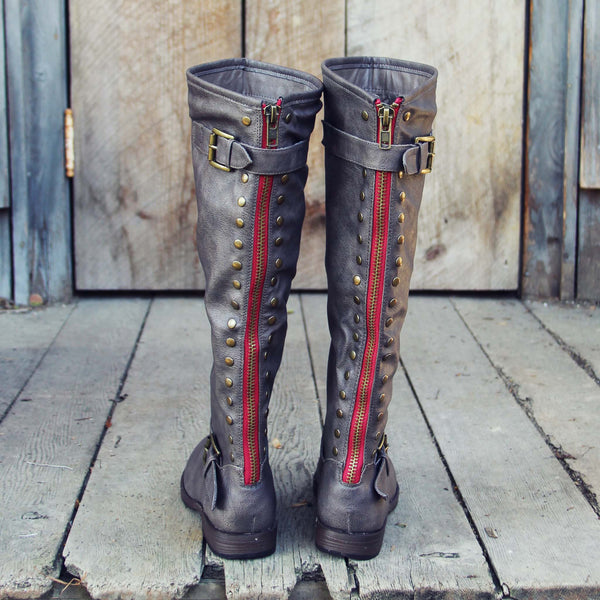 The Freestone Boots in Gray: Featured Product Image