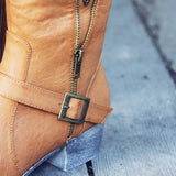 The Tucker Studded Campus Boots: Alternate View #2
