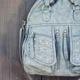Thunder & Mist Studded Tote: Alternate View #2