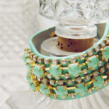 Treasured Stacks Bracelet in Mint: Alternate View #2