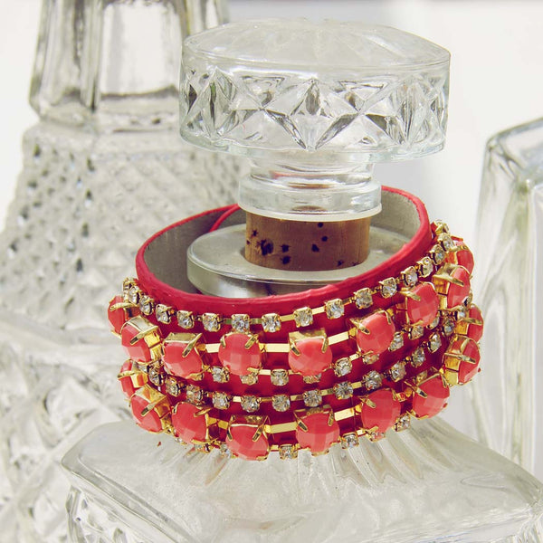 Treasured Stacks Bracelet in Watermelon: Featured Product Image