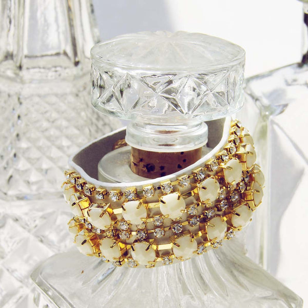 Treasured Stacks Bracelet in White: Featured Product Image