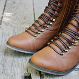 Upper County Boots in Oak: Alternate View #2