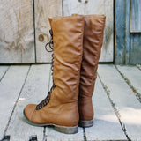 Upper County Boots in Oak: Alternate View #3