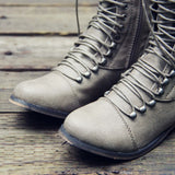 Upper County Boots in Taupe: Alternate View #2
