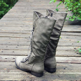 Upper County Boots in Taupe: Alternate View #3