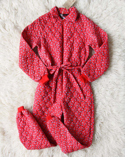Vintage 70's Calico Pajamas: Featured Product Image