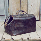 Vintage Native Nights Leather Tote: Alternate View #3