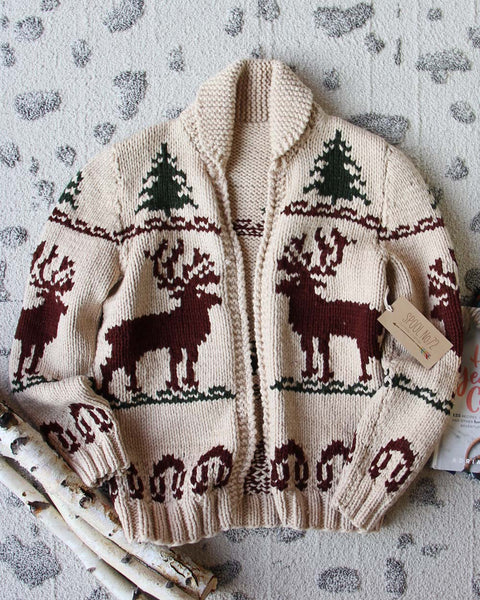 Vintage North Woods Cowichan Sweater: Featured Product Image