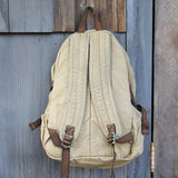 Weathered Cargo Backpack: Alternate View #3