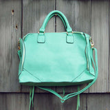 Wild Honey Tote in Mint: Alternate View #3