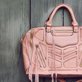 Wild Honey Tote in Peach: Alternate View #2