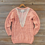 Winter Haven Lace Sweater: Alternate View #1