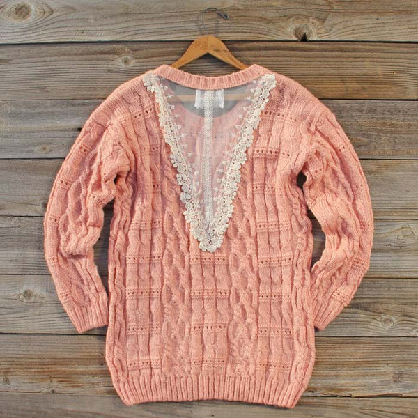 Winter Haven Lace Sweater: Featured Product Image