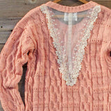 Winter Haven Lace Sweater: Alternate View #4