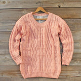 Winter Haven Lace Sweater: Alternate View #2