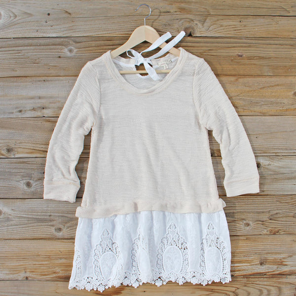 Wood Creek Lace Sweater: Featured Product Image