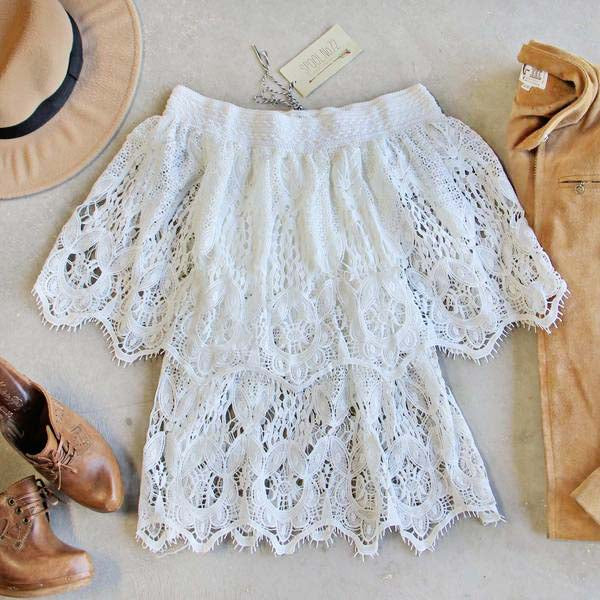 Adeline Lace Top: Featured Product Image