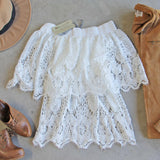 Adeline Lace Top (wholesale): Alternate View #3