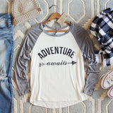 Adventure Awaits Tee: Alternate View #1