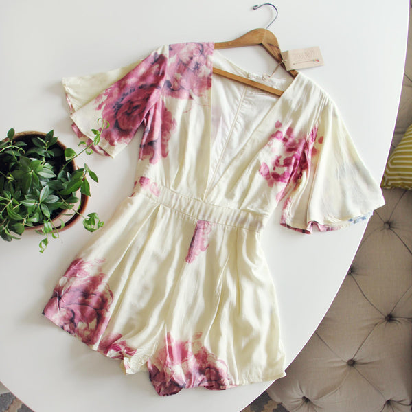 Cactus Bloom Romper: Featured Product Image