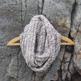 Alaska Knit Infinity Scarf: Alternate View #1