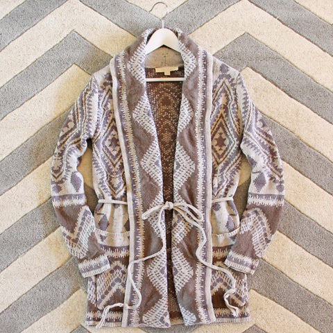 Alpine Gypsy Sweater in Sand