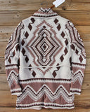 Alpine Gypsy Sweater in Taupe: Alternate View #4