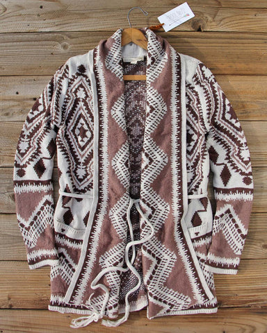 Alpine Gypsy Sweater in Taupe