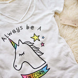 Always Be A Unicorn Tee: Alternate View #2