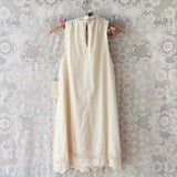 Meadow Sage Dress in Cream: Alternate View #4