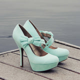 Ancient Lake Lace Heels: Alternate View #1