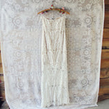 Angelic Lace Maxi Dress: Alternate View #4