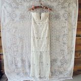 Angelic Lace Maxi Dress: Alternate View #2