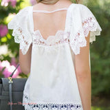 Gone Antiquing Lace Top (wholesale): Alternate View #3