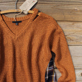 Apple Valley Plaid Sweater: Alternate View #2
