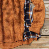 Apple Valley Plaid Sweater: Alternate View #3