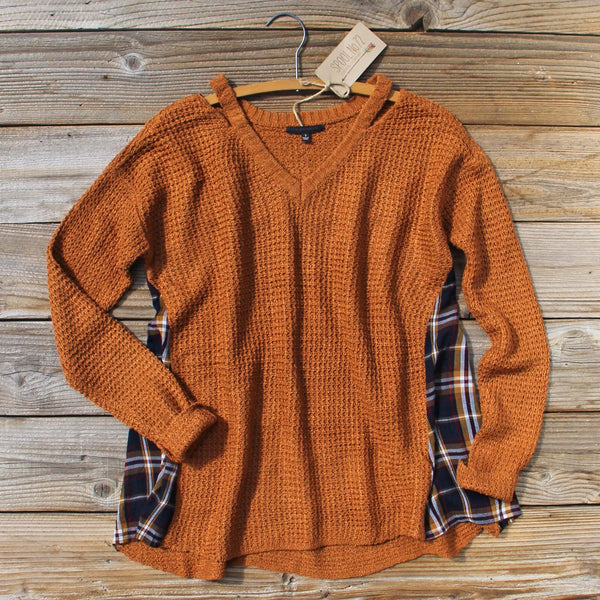 Apple Valley Plaid Sweater: Featured Product Image