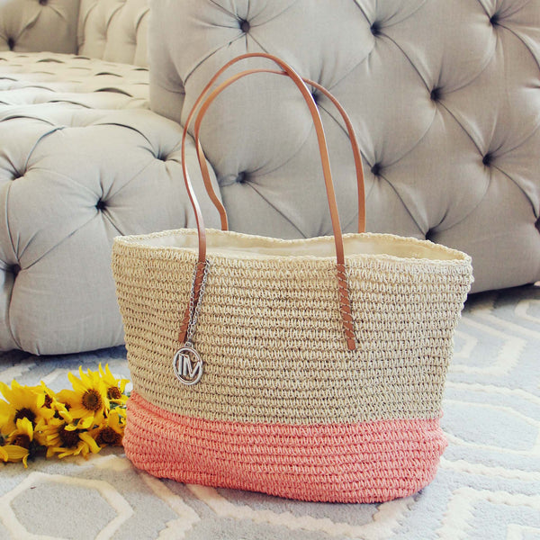 Arizona Dipped Tote in Pink: Featured Product Image