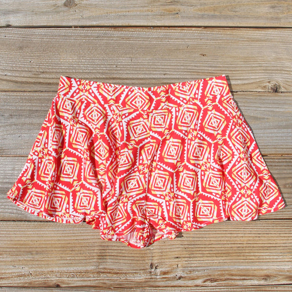 Arizona Flutter Shorts: Featured Product Image