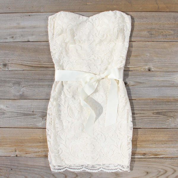 Arizona Lace Dress in Sand: Featured Product Image